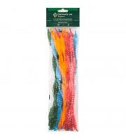 """Материал декоративный Greenwich Line """"Пушистая проволока"""", короткое перо, двуцветная, 300мм, 50шт."""