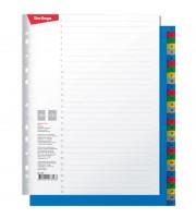 Разделитель листов Berlingo А4+, 31 лист, цифровой 1-31, цветной, пластиковый