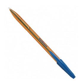 Ручка шариковая ERICH KRAUSE R-301 Amber, оранжевый корпус, синий