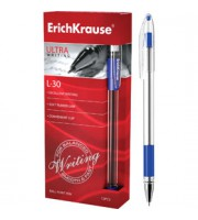 Ручка шариковая ERICH KRAUSE ULTRA L-30, синий