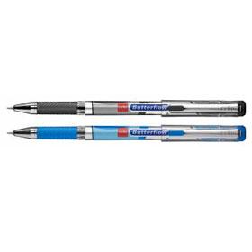 Ручка шариковая CELLO Butterflow, ультромягкое письмо, 0,6мм, синий