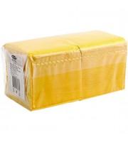 Салфетки 25х25см 1сл. 400шт., желтый