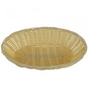 Корзина для хлеба Gastrorag плетеная овальная пластиковая 23х15х6 см