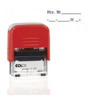 Штамп стандартный Исх. № и дата Colop Printer C20 3.4