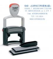 Штамп самонаборный TRODAT 5253, 6-ти строчный 49х28мм, 2 кассы, металл