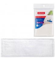 Насадка МОП для швабры OfficeClean Professional с карманами, 40*10см, микрофибра
