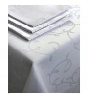 Салфетка набор 5 штук Журавинка Рис1927 35х35 белая пропитка гряземаслооталкивающая