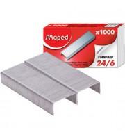 Скобы для степлера №24/6 MAPED, 1000шт.