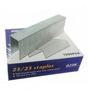 Скобы для степлера №23/23 KW-TRIO, 1000шт., до 200л.