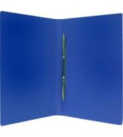 Папка-скоросшиватель с пружинным механизмом, синий
