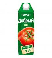 Сок Добрый томатный 1 л