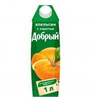 Нектар Добрый апельсиновый 1 л