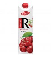 Сок Rich вишневый 1 л