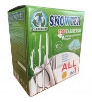 Таблетки для посудомоечных машин Snowter для мытья посуды 1200 г