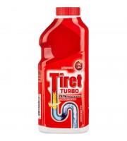 Средство для прочистки труб Tiret Turbo гель 0.5 л