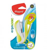Степлер 10 15л., MAPED Ergologic Pocket, ассорти