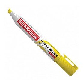 Текстовыделитель ERICH KRAUSE V-40 1-5мм, желтый
