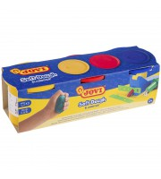 Тесто для лепки JOVI, 03 цвета*110г, картон