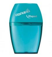 Точилка с контейнером MAPED Shaker, 1 отверстие, ассорти