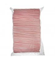 Трубочки для коктейлей Мистерия в полоску длина 21 см 1000 штук в упаковке