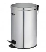 Ведро-контейнер для мусора (урна) OfficeClean Professional, 12л, нержавеющая сталь, хром