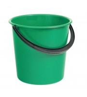 Ведро пластиковое 10 л без крышки (в ассортименте)