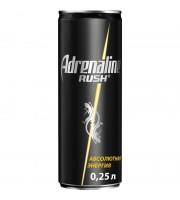 Напиток энергетический Adrenalin Rush газированный 0.25 л